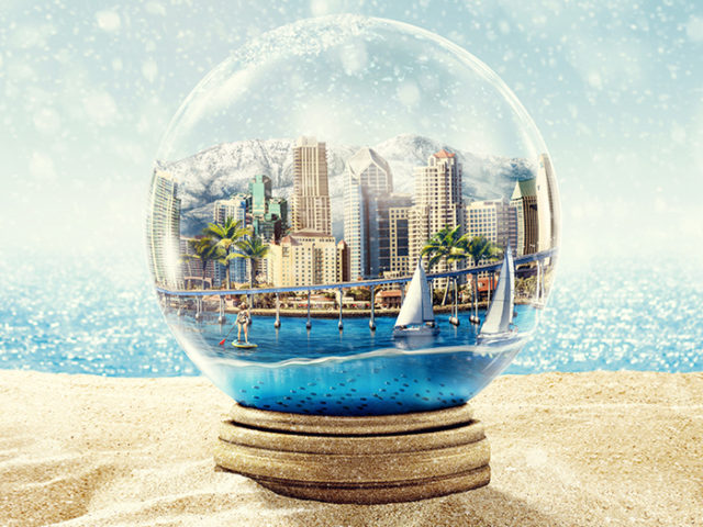 San Deigo Magazine – Snow Globe